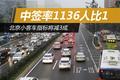 北京小客车指标将减3成中签率1136人比1