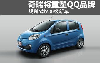 奇瑞将重塑QQ品牌 规划6款A00级新车(图)