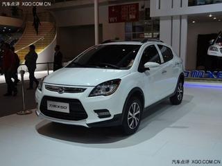 力帆紧凑型SUV X50上市售价5.98-8.28万