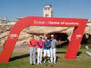 奥迪在迪拜举办高尔夫大赛 全球53国参赛