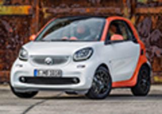 全新smart将7月30日上市 搭小排量发动机