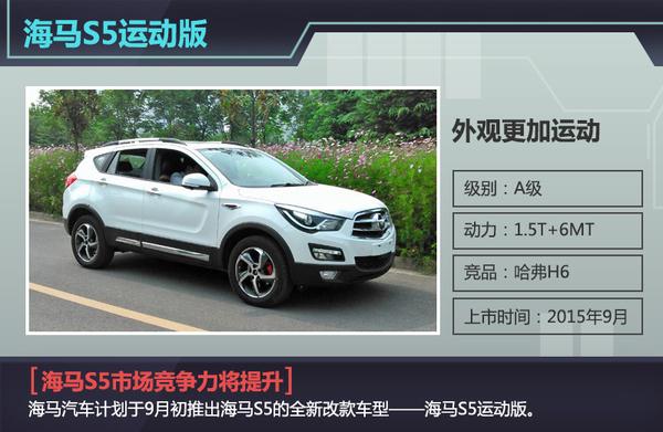 海马前7月销量同比降超10 年内推2新车高清图片