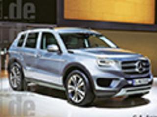 奔驰全新GLB中型跨界SUV 有望推七座版