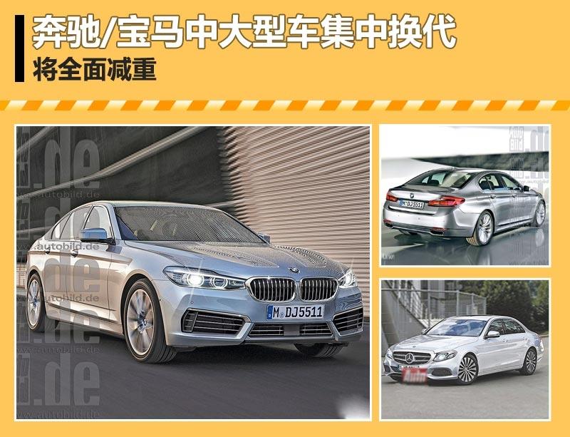 奔驰/宝马中大型车集中换代 将全面减重图片锦集-东南网-汽车频道