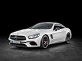 奔驰SL改款车型官图曝光 11月19日发布