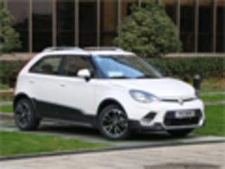 带有SUV风味的跨界选择 试驾上汽MG 3SW