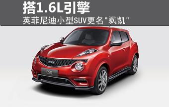 英菲尼迪小型SUV更名