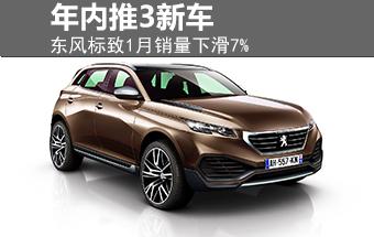 东风标致1月销量跌7% 3款全新车年内推出