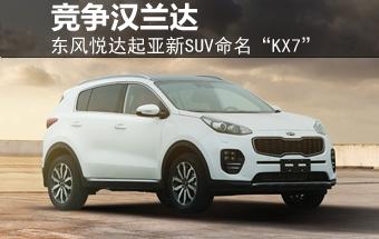 """东风悦达起亚新SUV命名""""KX7"""" 竞争汉兰达-东风悦达起亚高清图片"""