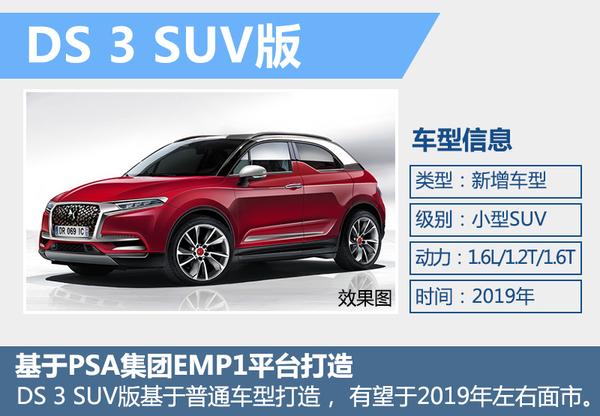 DS全新小型车将衍生SUV版本 与奥迪Q2竞争(图2)