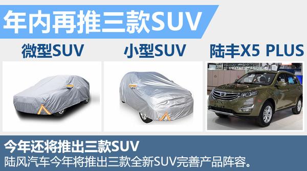 陆风1月销量涨260% 年内将再推3款全新SUV!(图3)