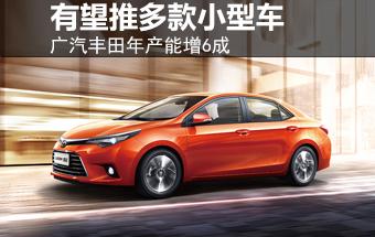 广汽丰田年产能增6成 有望推多款小型车