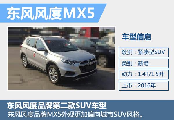 东风风度第二款SUV将投产 动力可不是老二!(图4)