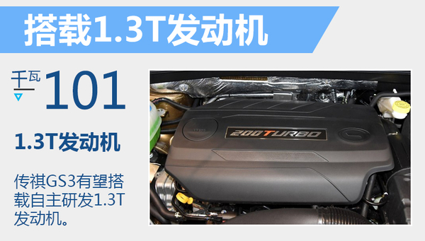 """广汽传祺第四款SUV命名""""GS3"""" 明年正式推出(图3)"""