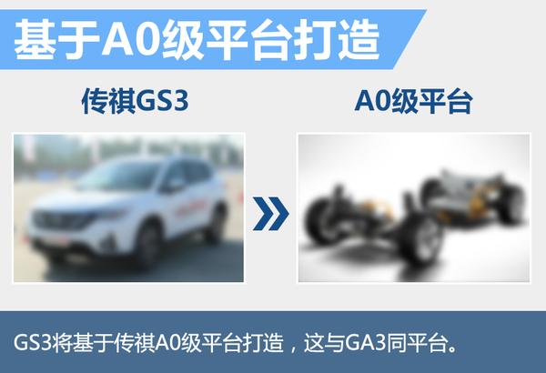 """广汽传祺第四款SUV命名""""GS3"""" 明年正式推出(图2)"""