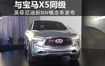 英菲尼迪新SUV概念车-首发 与宝马X5同级