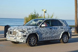 奔驰新款GLE轴距将加长 衍生Coupe版本