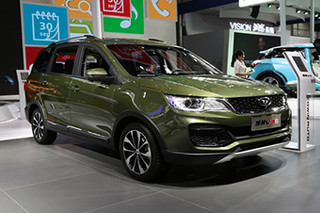 高智能的7座SUV 凯翼V3配置推荐