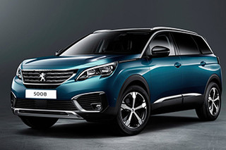 MPV变身7座SUV 标致新5008巴黎车展发布