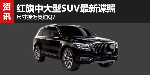 红旗中大型SUV最新谍照 尺寸接近奥迪Q7-红旗 文章 汽车频道高清图片