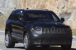 Jeep全新高性能版大切诺基 最新路试谍照
