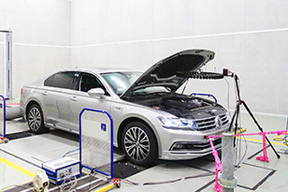参观上汽大众技术中心 寻找高品质的秘密