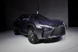 穿越星际的座驾 实拍雷克萨斯UX概念车