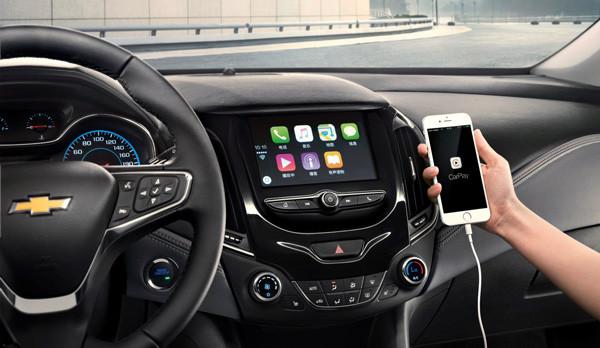 全新科鲁兹搭载雪佛兰全球新一代mylink智能车载互联