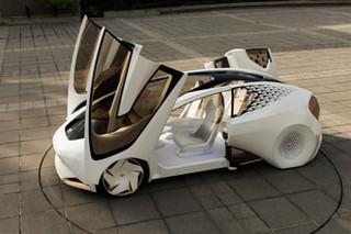 丰田Concept-i概念车亮相CES 可自动驾驶