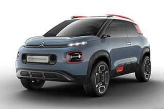 雪铁龙推小型SUV概念车 日内瓦车展亮相