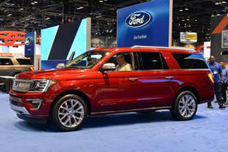 福特全新旗舰SUV亮相 首次采用滑动座椅