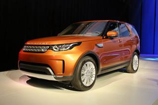 路虎全新发现于3月2日上市 全铝车身打造