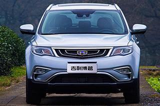 吉利规划推多款新SUV 远景X1将增电动版