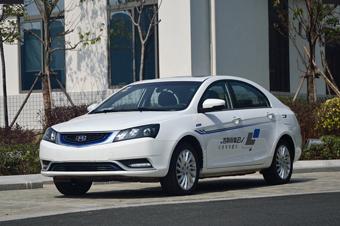 吉利帝豪EV对比评测 吉利帝豪EV对比导购 吉利帝豪EV试驾 网通社汽高清图片