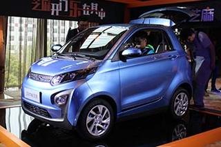 众泰大迈芝麻电动车发布 售价5.88万元