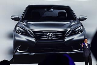 长安睿骋CC量产车效果图发布 年底上市