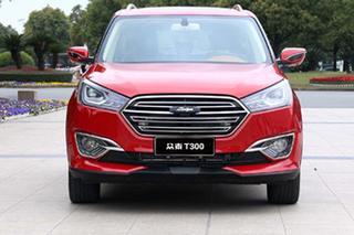 众泰紧凑型SUV-T300实车图 年内将上市