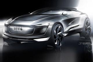 奥迪推首款纯电动SUV PK特斯拉Model X