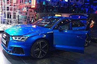 网通社上海车展探馆:奥迪RS 3 Sedan