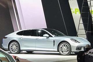 保时捷Panamera加长版 等3新车在华首秀