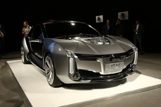 开门方式鲜为人知 观致Model K-EV发布