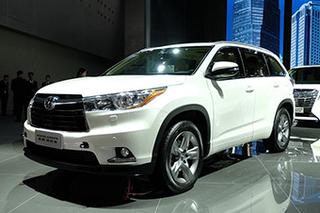 广汽丰田新款汉兰达正式上市 23.98万起