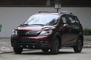 东风风行新SUV命名SX3 更换满天星中网
