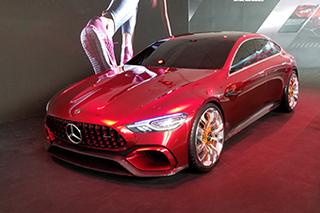 贴合国内需求 奔驰4门版AMG GT入华首秀