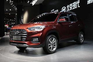 北京现代全新ix35路试曝光 于11月上市