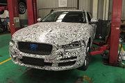 国产捷豹XEL实车曝光 竞争奔驰C级长轴