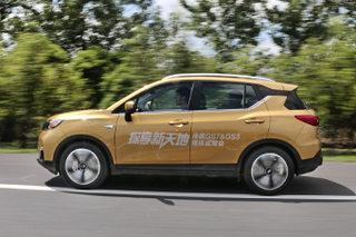 品质登顶自主小型SUV 试驾广汽传祺GS3