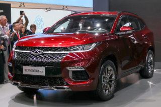 奇瑞发布高端产品系列 将首推7座大SUV