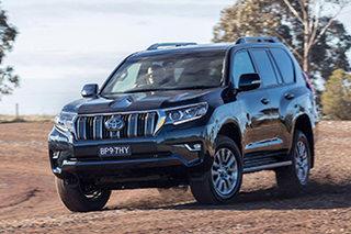 丰田新款普拉多发布 或于10月引进国产