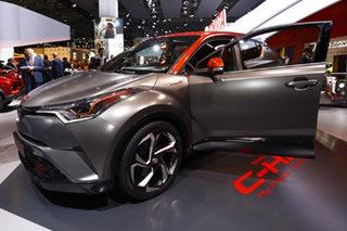 丰田C-HR混动概念车发布 动力系统升级